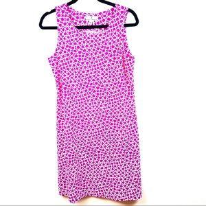 Jude Connally Geometric Mini Dress Medium